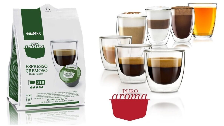 Gimoka Dolce Gusto kavekapszula Cremoso