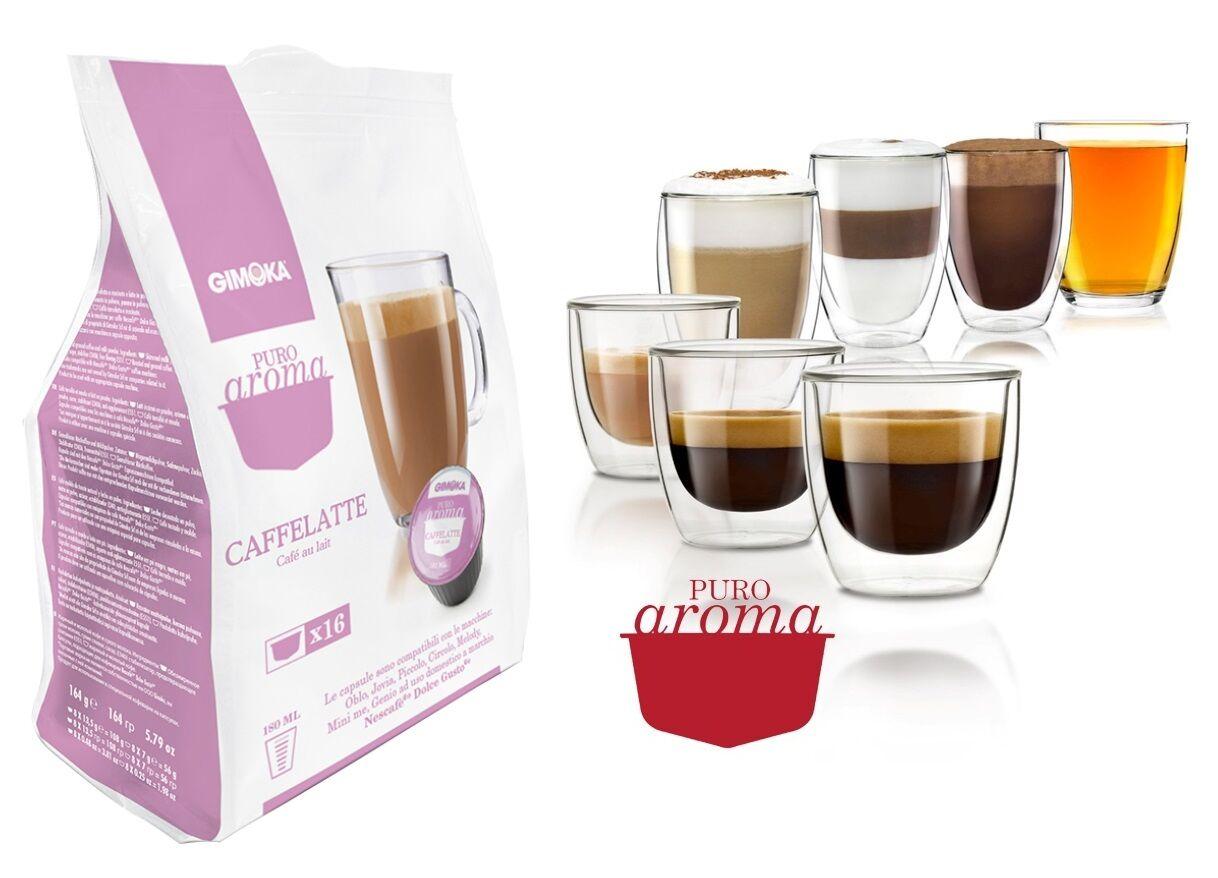 Caffe Latte Dolce Gusto kapszula