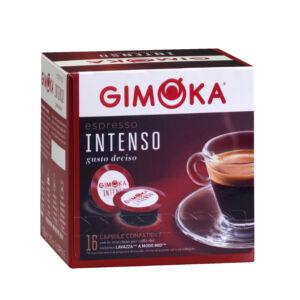 GIMOKA Intenso - Lavazza A MODO MIO kompatibilis kapszula 16db/doboz