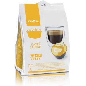 Dolce Gusto kávékapszula Gimoka Lungo sárga