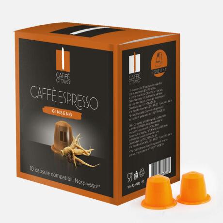 Ginseng Nespresso kompatibilis kávé kapszula NESPRESSO kávéfőzőhöz 10db/doboz