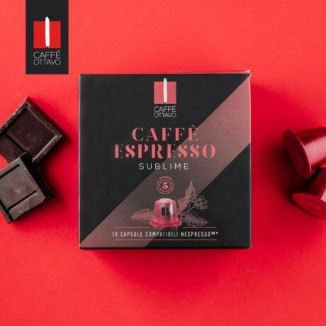 Sublime Nespresso kompatibilis kávé kapszula NESPRESSO kávéfőzőhöz Caffé Ottavo