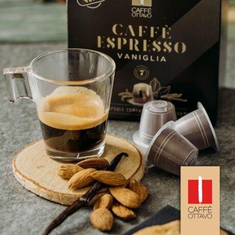 VANILLA Nespresso kompatibilis kávékapszula 10 db/doboz Caffé Ottavo