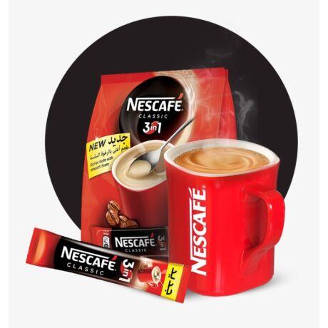 Nescafé Classic 3in1 azonnal oldódó kávéspecialitás 10x17g