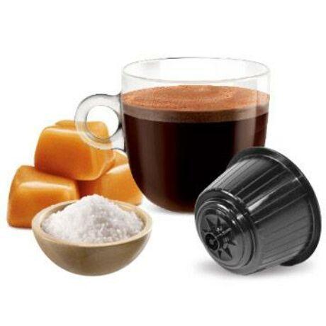 BONINI Sós Karamel - Dolce Gusto kompatibilis kapszula 16 db/csomag (Caramel Salato)