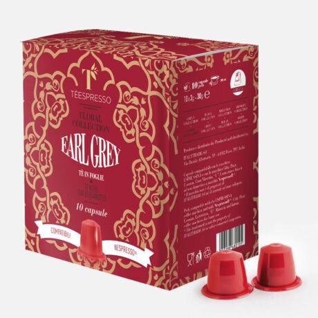Earl Grey tea Nespresso kompatibilis kapszula 10 db/doboz