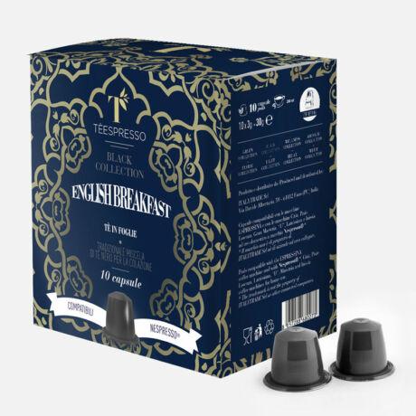 English Breakfast tea Nespresso® kompatibilis kapszula 10 db/doboz Caffé Ottavo