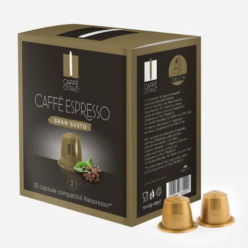 Gran Gusto Nespresso kompatibilis kávé kapszula NESPRESSO kávéfőzőhöz
