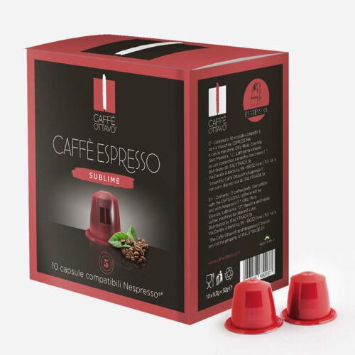 Sublime Nespresso kompatibilis kávé kapszula NESPRESSO kávéfőzőhöz