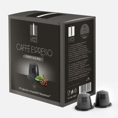 Fortissimo Nespresso kompatibilis kávé kapszula NESPRESSO kávéfőzőhöz