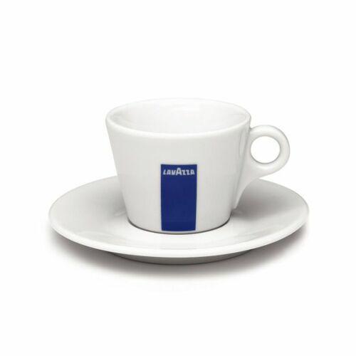 Lavazza Cappuccino csésze + alátét, porcelán