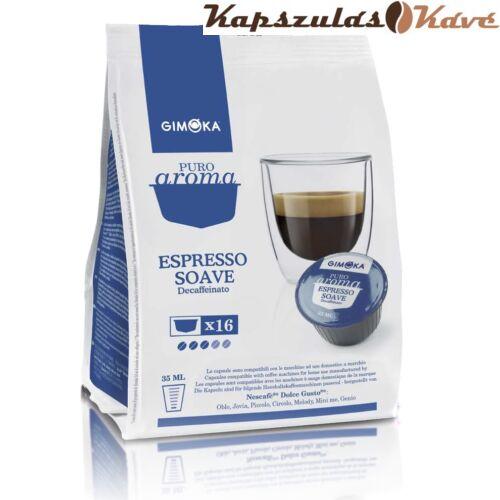 Dolce Gusto kapszula koffeinmentes kávé sötétkék