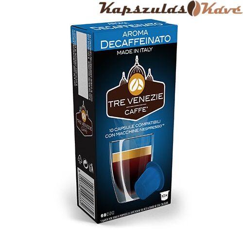 Nespresso kapszula Tre Venezie kék Koffeinmentes