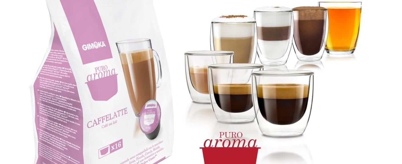 Caffe Latte kapszula vékony puro aroma